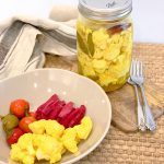 Turmeric Pickled Cauliflower