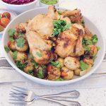 Roast Chicken and Batata Harra